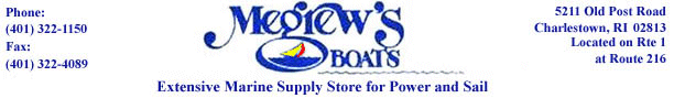 Click for Megrew�s Boats Home